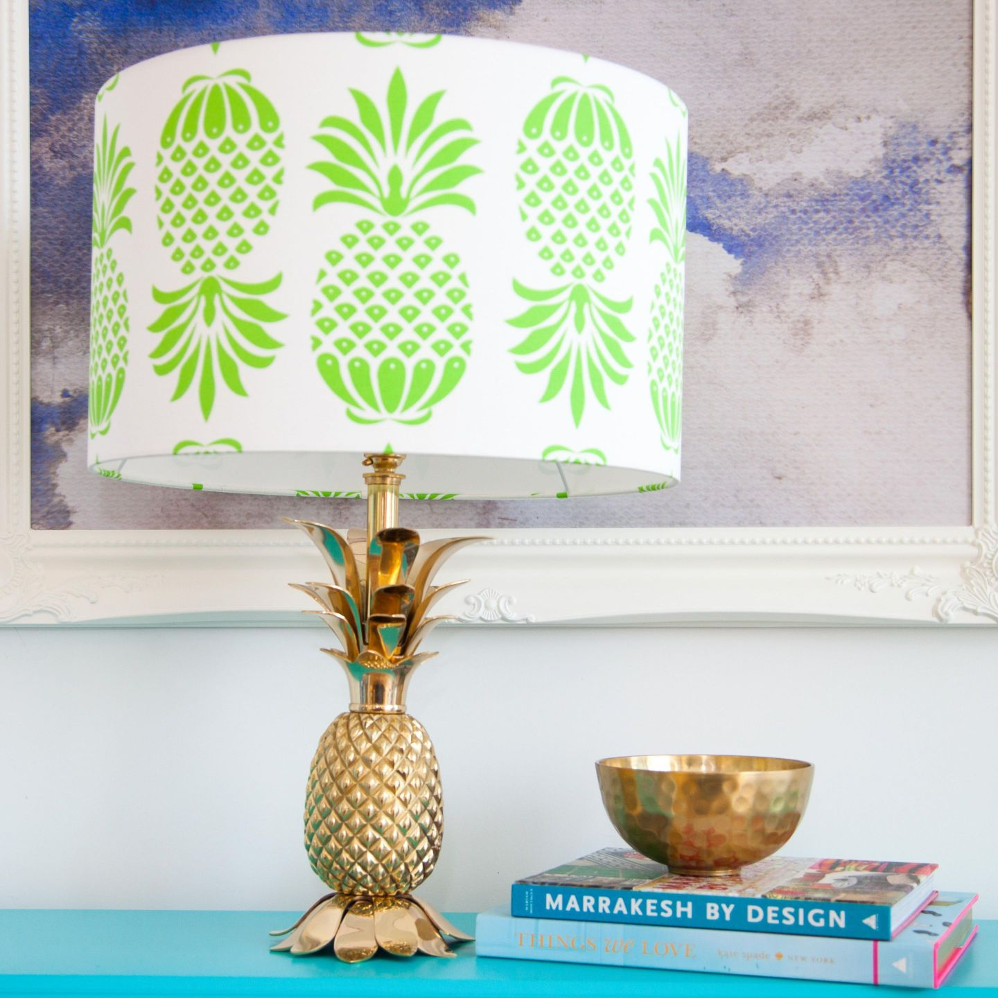 Penelope-Hope-Pina-Colada-Green-Drum-Lampshade-Large-1634096-1-1440x1440 Pineapple Decor: Tips for Decorating Your Home with Southern Hospitality