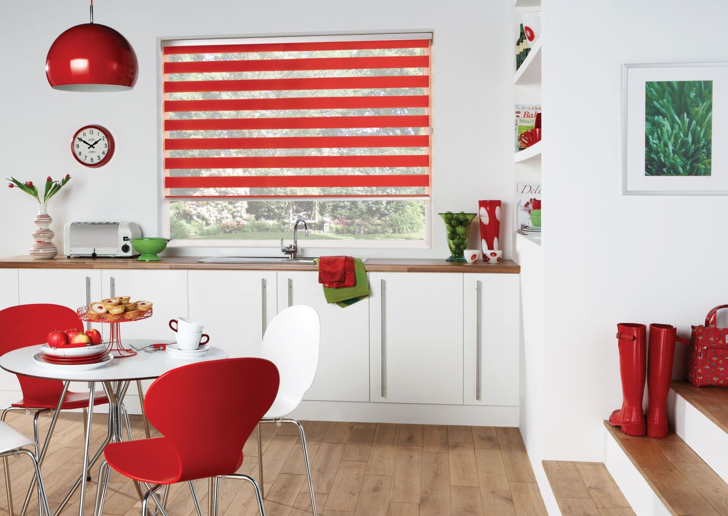 Red-Vision-Day-Night-Kitchen-Roller-Blinds--1440x1022 DST Home Decor Inspiration: Crimson and Cream Design Style