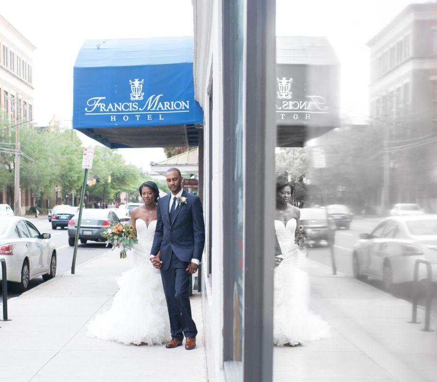 y8arfhtqgmoviokvtz67_big Charleston, SC Spring Wedding at Francis Marion Hotel