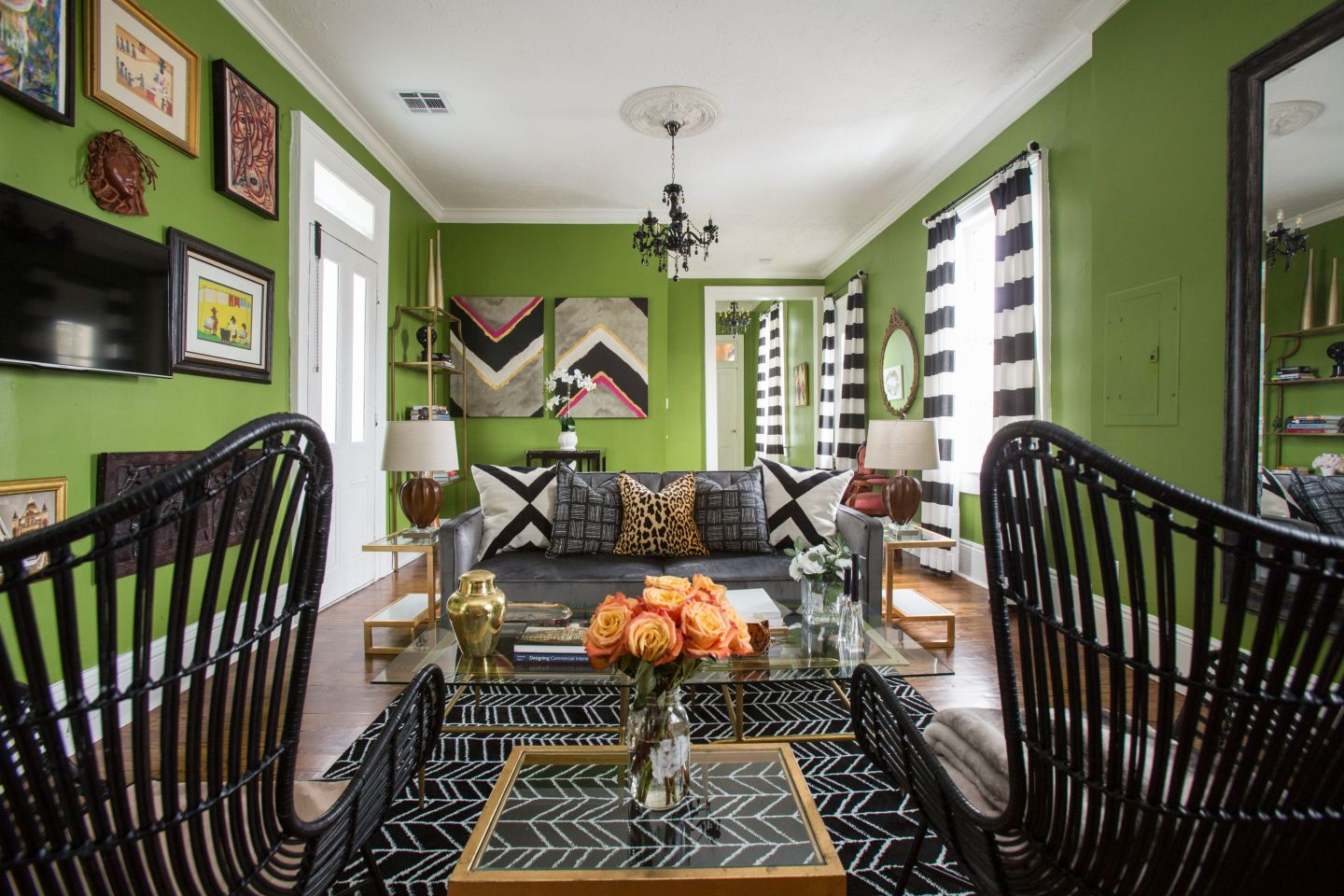 airbnb-6-1440x960 From Rocket Science to Interior Design: Baton Rouge Roots and Bold Design from April Vogt