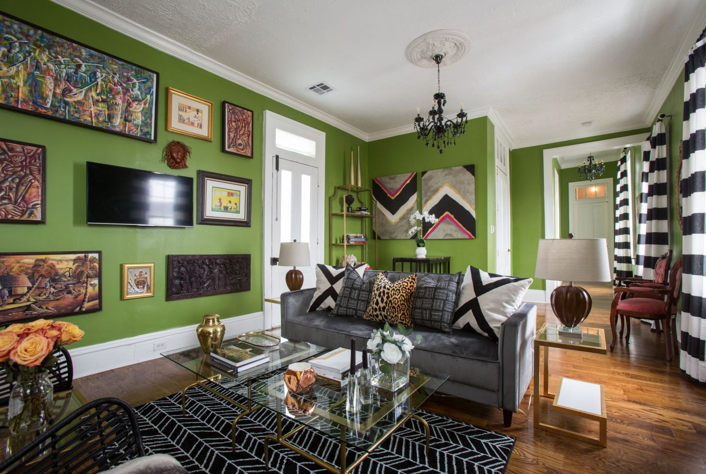airbnb-7-1440x967 From Rocket Science to Interior Design: Baton Rouge Roots and Bold Design from April Vogt