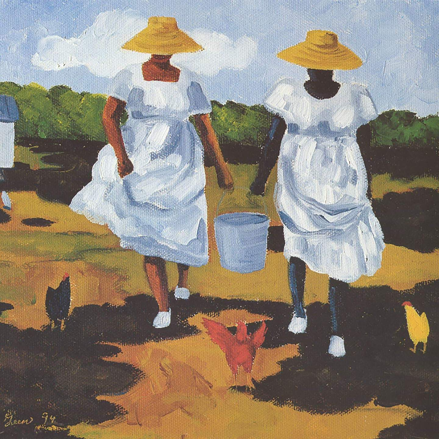 Sharing the Chores: Exhibit Explores the work of Jonathan Green