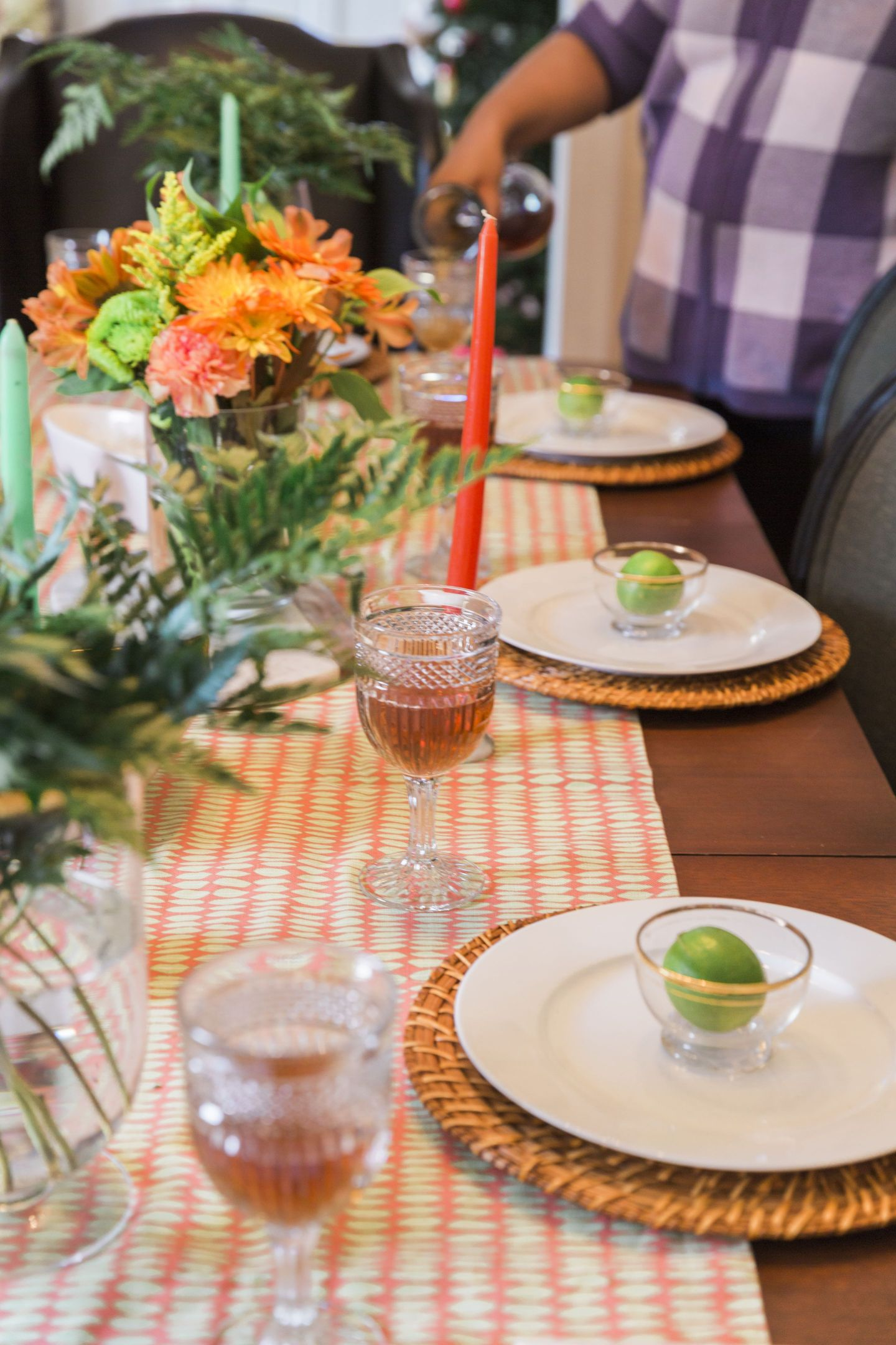 Black-Southern-Belle0073-1440x2160 Rattler-Inspired: Orange and Green Spring Dinner Party