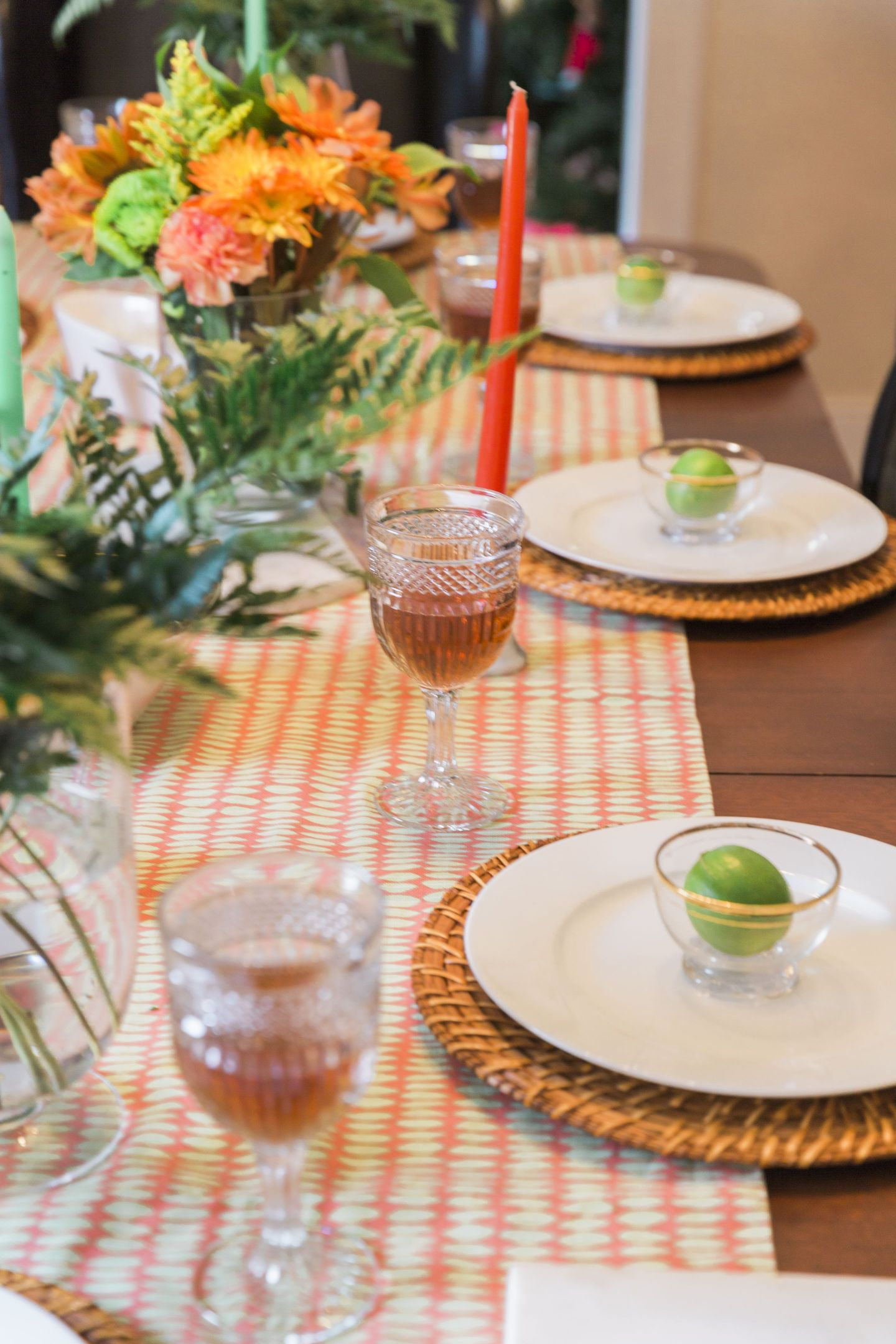 Black-Southern-Belle0076-1440x2160 Rattler-Inspired: Orange and Green Spring Dinner Party