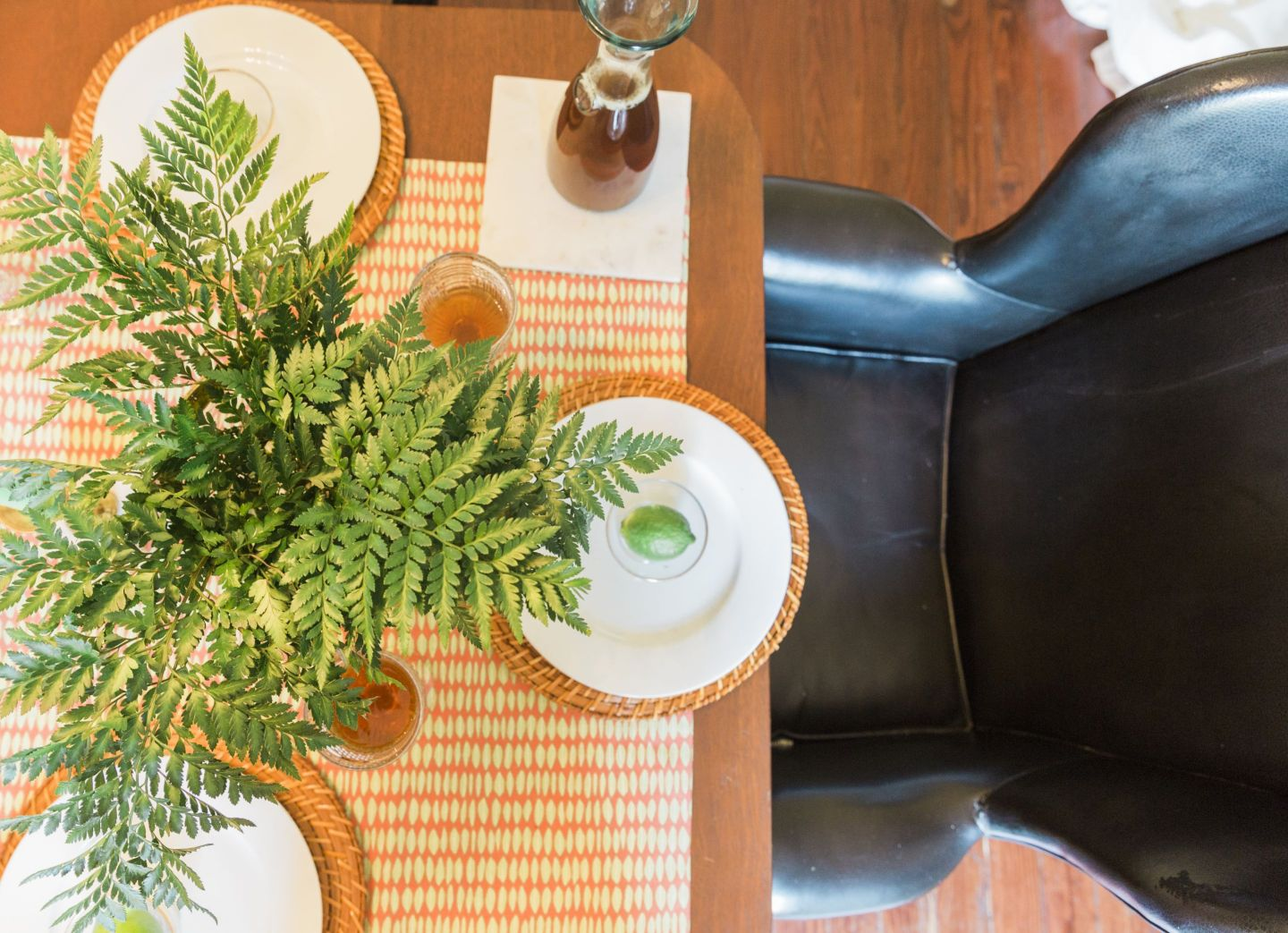Black-Southern-Belle0089-1440x1043 Rattler-Inspired: Orange and Green Spring Dinner Party