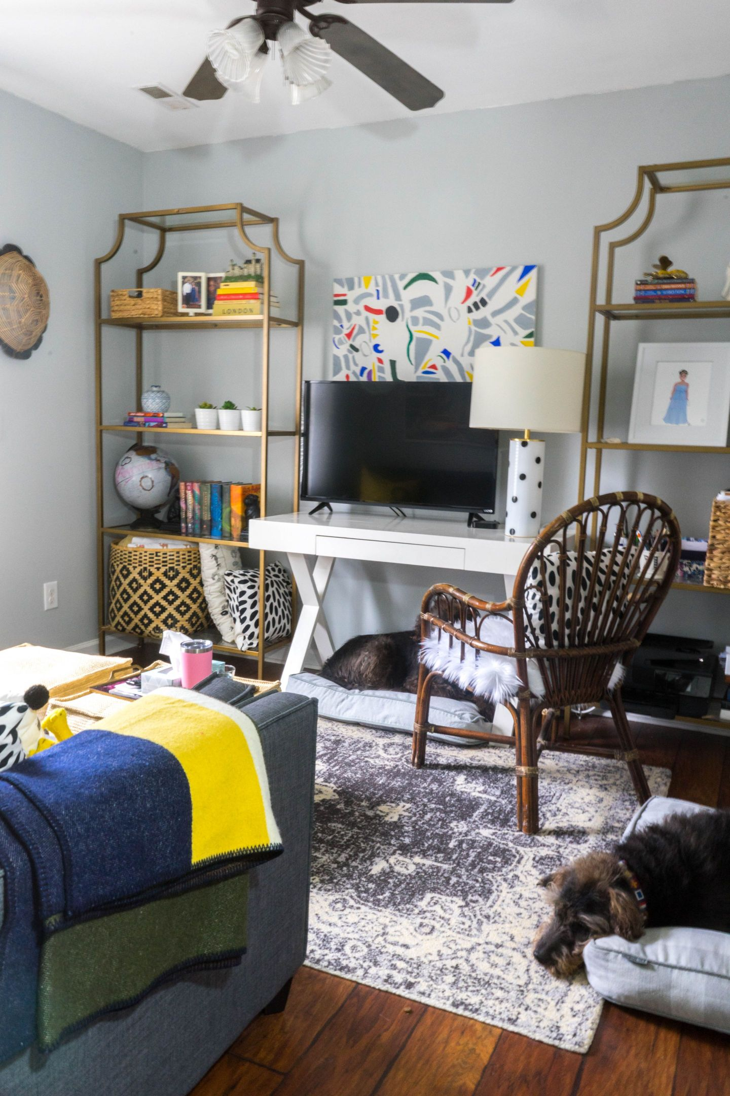 DSC00366-1440x2160 Black Southern Belle Blogger Home Tour: Preppy Home  Style in Raleigh, NC