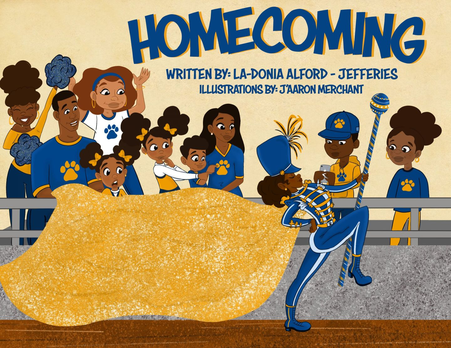 HBCU Homecoming Children's Book For Your HBCU Baby