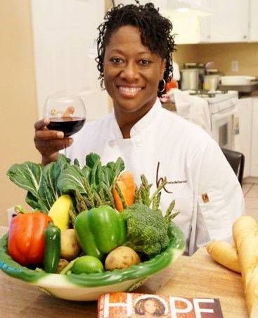 new-chef2-e1403507914844 Black Southern Belle Chef Hardette Harris is the Grand Ambassador for Northern Louisiana Cuisine
