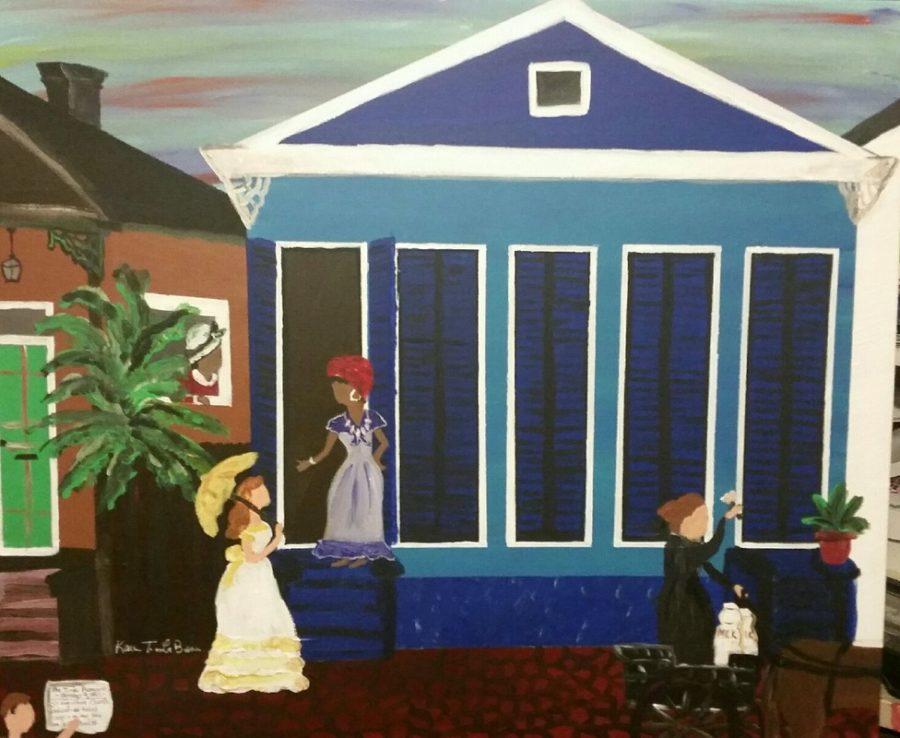 9197857_orig Karen T. La Beau, New Orleans Native, Showcases History & Culture Through Art