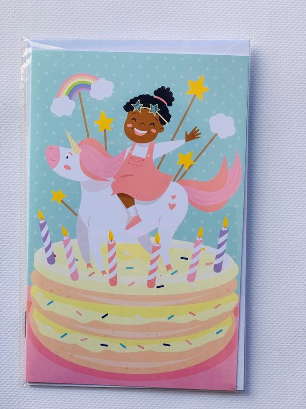 Black-Girl-Magic-and-Unicorns Black Owned Paper Goods  Company Gives 3 Tips for How to Wrap Kid's Birthday Gifts