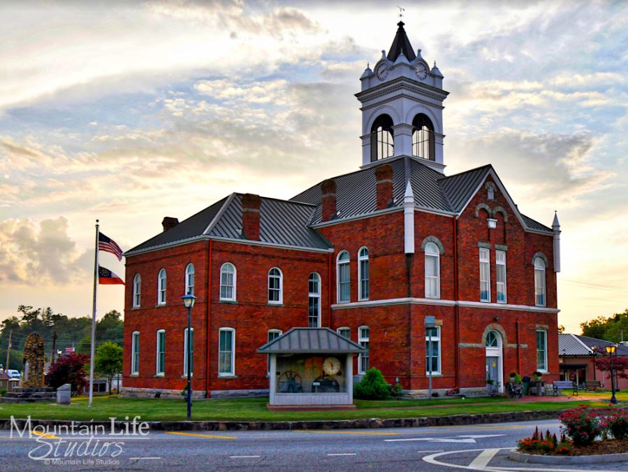 Courthouse Spring Travels in the South: Blairsville, GA