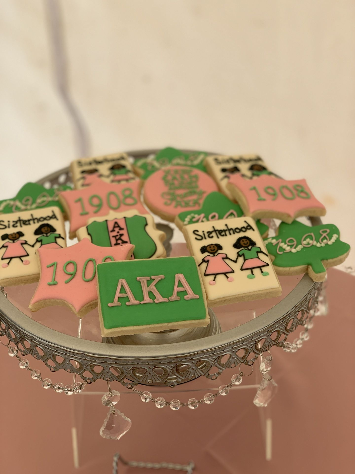 IMG_3024-1440x1920 Alpha Kappa Alpha Soiree - Pink & Green Outdoor Party Inspiration in Alabama