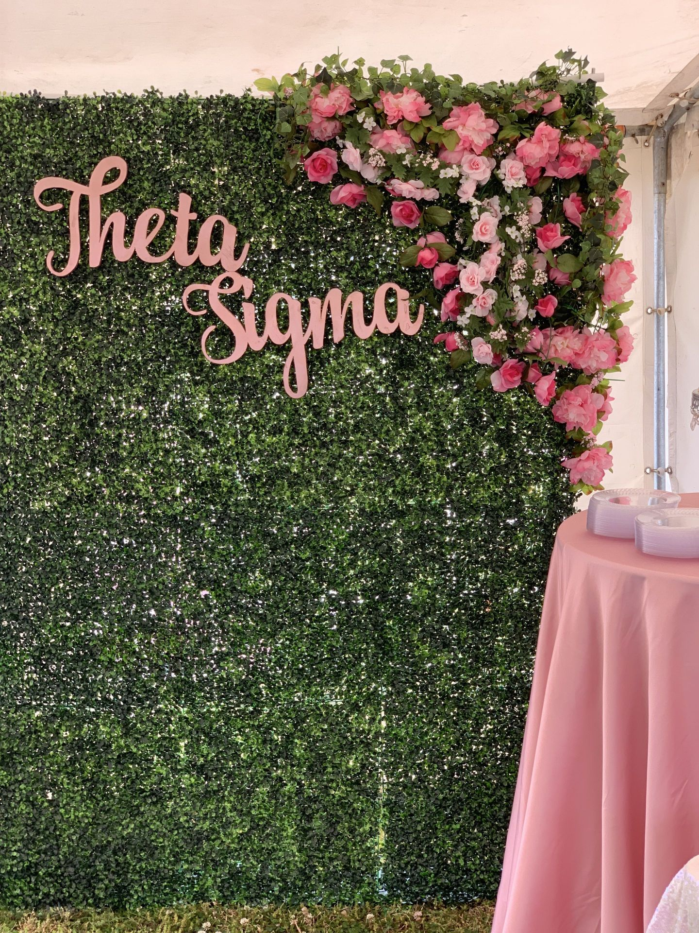 IMG_3028-1440x1920 Alpha Kappa Alpha Soiree - Pink & Green Outdoor Party Inspiration in Alabama