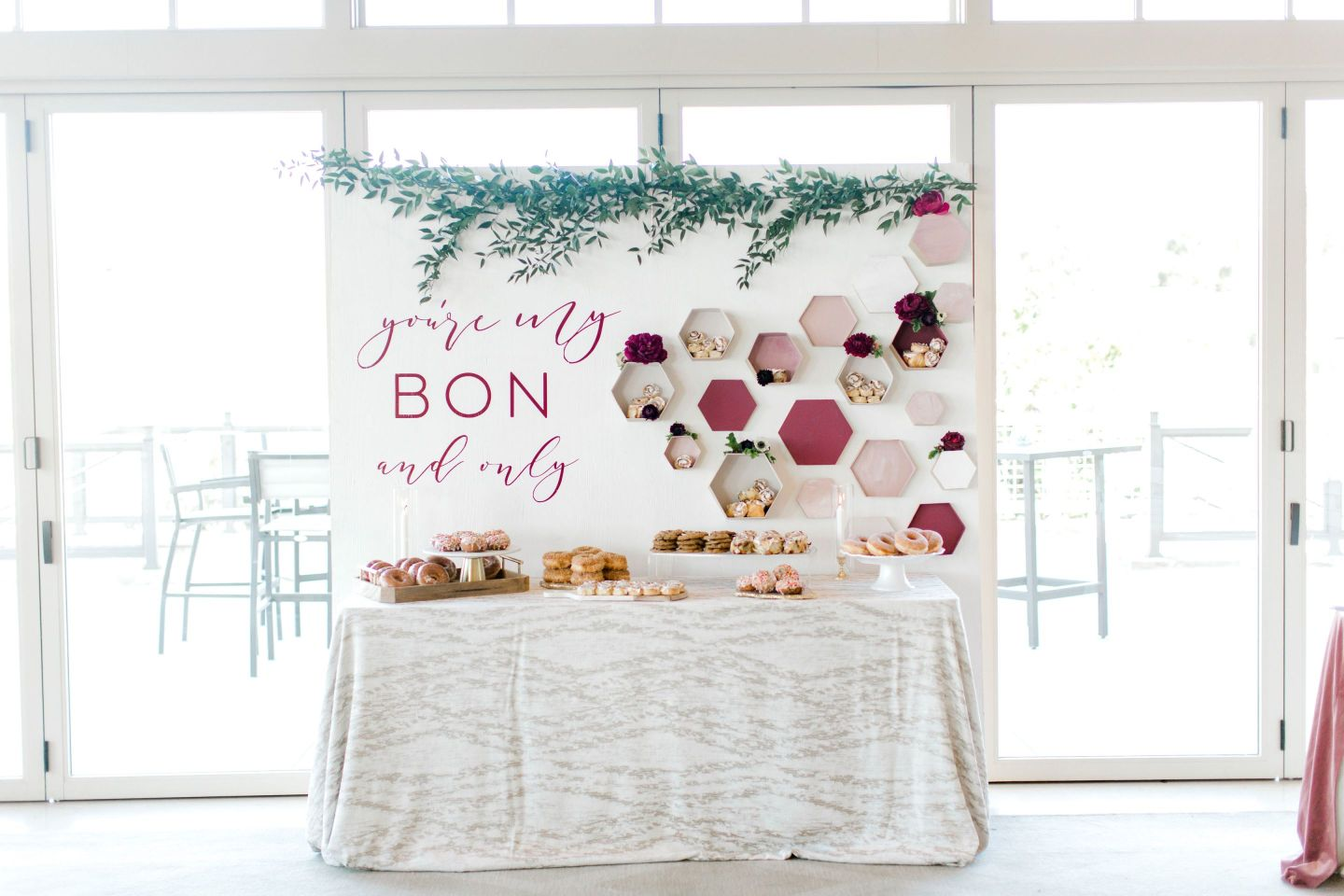 PineandSea_HuberWedding_ReceptionDetails-101-1-1440x960 Spring Wedding Inspiration: How to Host a Dessert Bar with Cinnabon