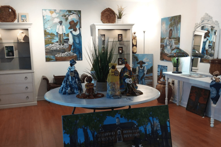 International Cultural Gullah Artist Sonja Griffin Evans Unveils Newest Art Studio