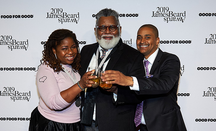 Veronica-Chambers_Alexander-Smalls_JJ-Johnson Recap: 2019 James Beard Foundation Awards Yields More Firsts for African Americans