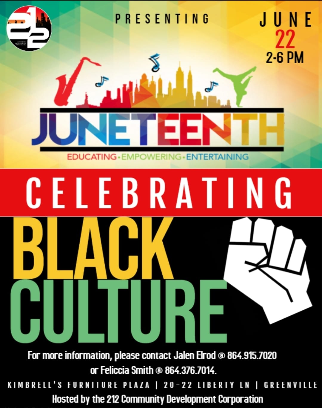 61503002_663564670754784_2874653613014122496_o Celebrating Juneteenth in South Carolina: Events to Attend this June