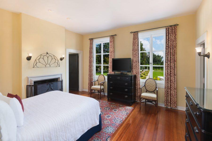 Crane-King-Suite-Bedroom-v2 Southern Travel Destination: Jekyll Island Club Resort