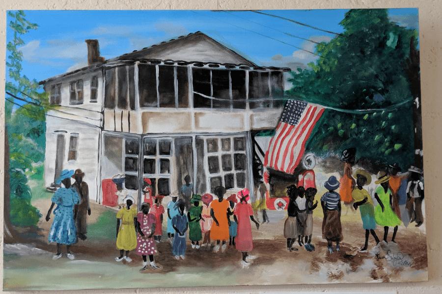 Gullah-36-1 The Art of Lisa Gilyard-Rivers: A Gullah Homecoming Exhibit at Penn Center