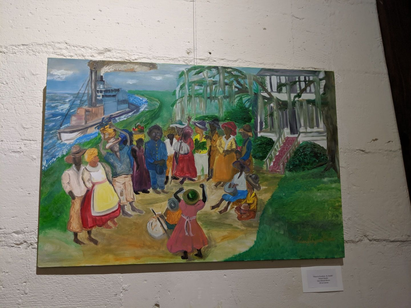 IMG_20190608_140727-1 The Art of Lisa Gilyard-Rivers: A Gullah Homecoming Exhibit at Penn Center