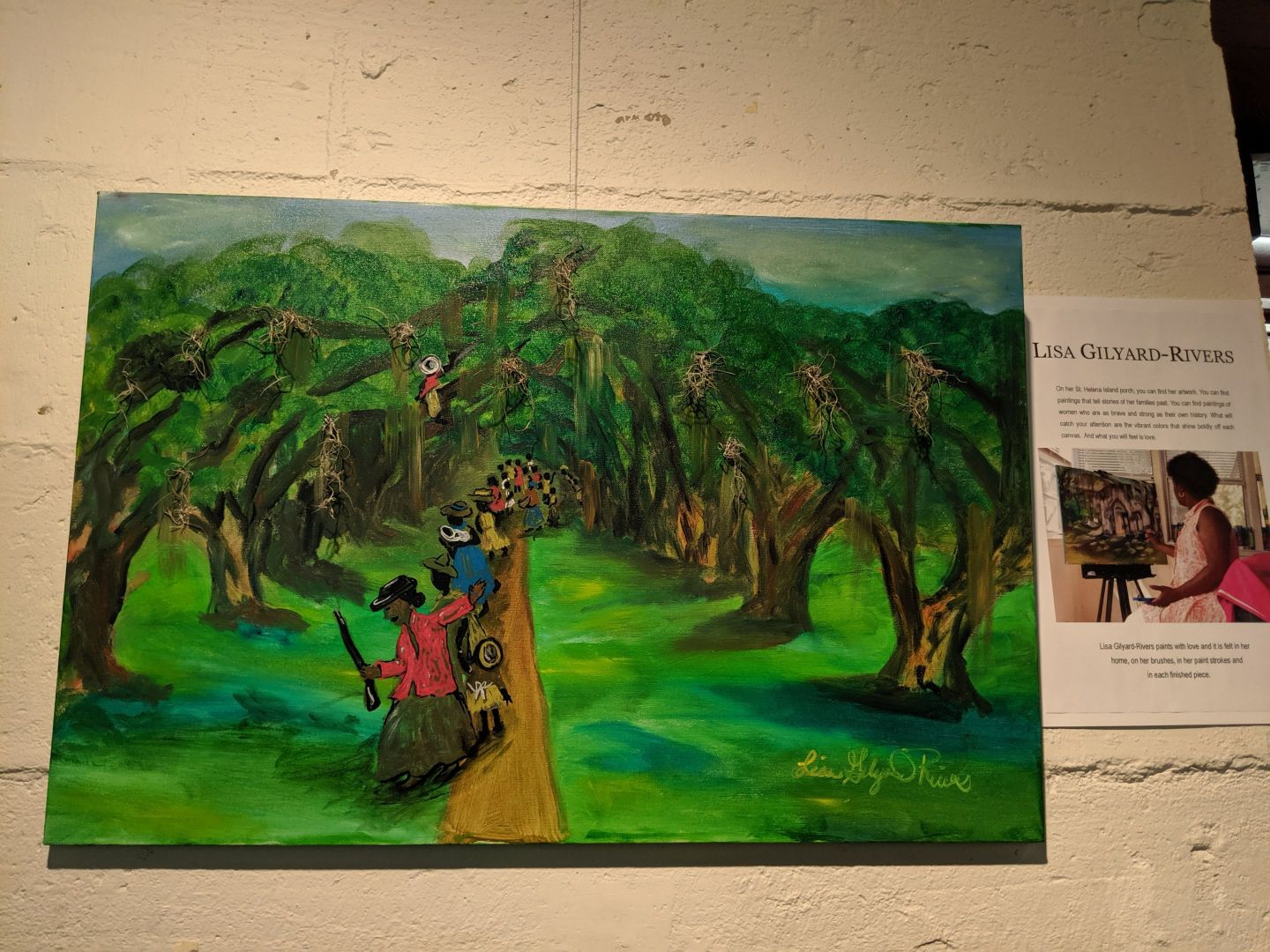 IMG_20190608_140748-1 The Art of Lisa Gilyard-Rivers: A Gullah Homecoming Exhibit at Penn Center