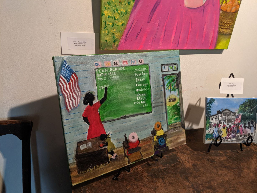 IMG_20190608_140933 The Art of Lisa Gilyard-Rivers: A Gullah Homecoming Exhibit at Penn Center