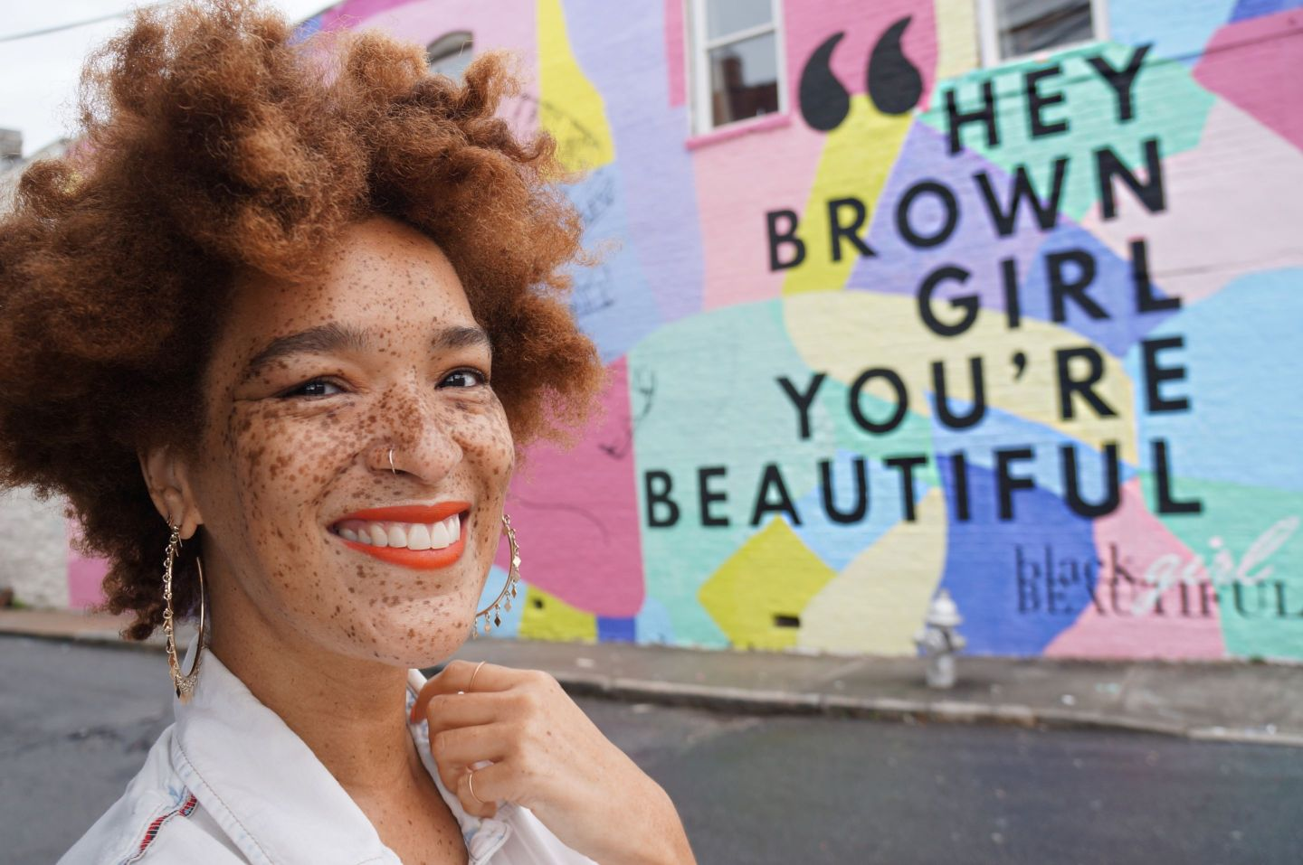 nikiaheybrowngirlmural-1440x957 Artist Celebrates Black Girl Magic Through Mural and Shares Her Favorite Black Women Owned Spots in ATL