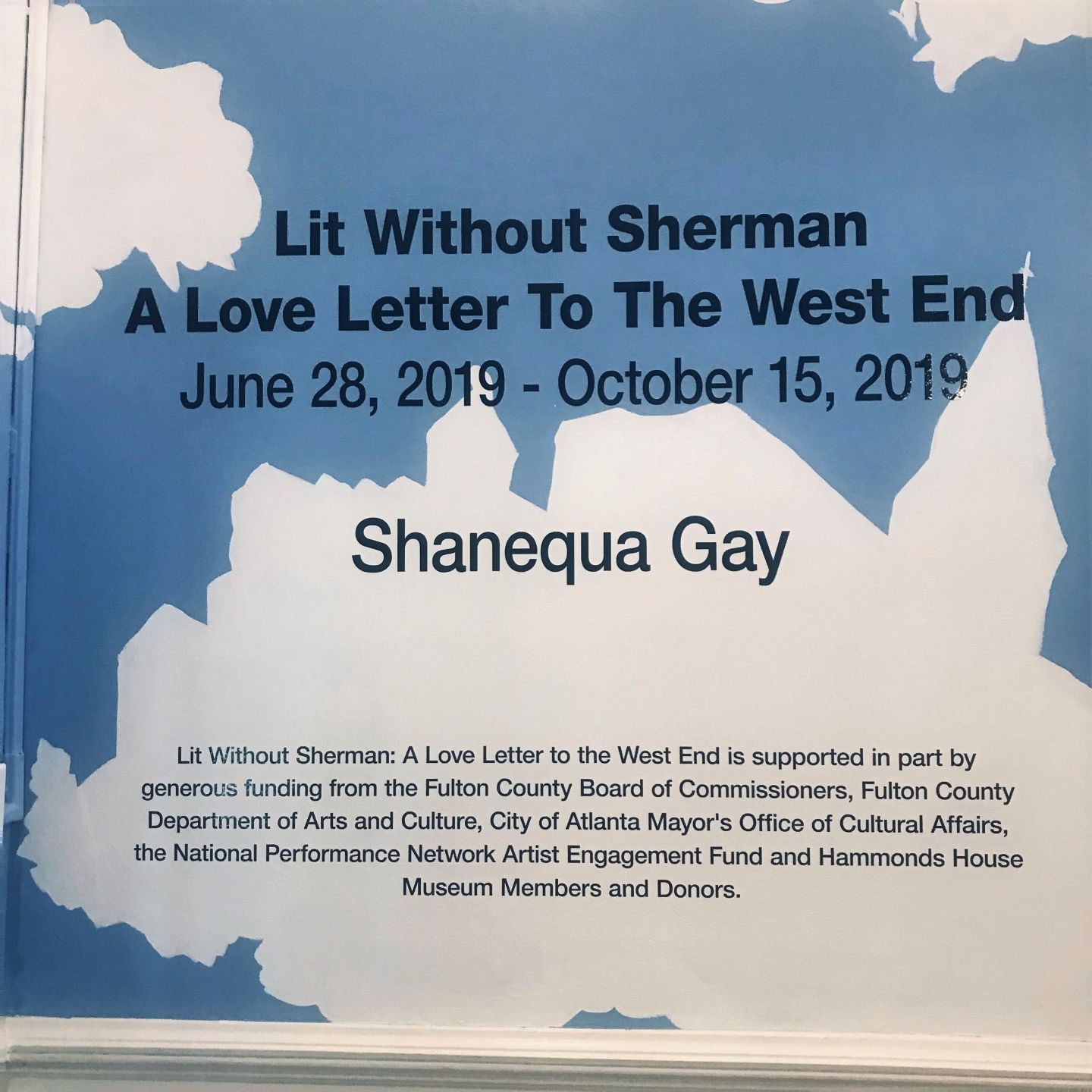 22-Shanequa-Gay-exhibit-Hammonds-House-Museum-photo-by-Sue-Ross Shanequa Gay's LIT WITHOUT SHERMAN: A Love Letter To The West End Now Open At Hammonds House