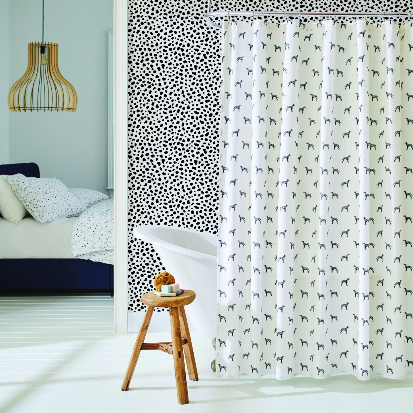 Tempaper_The-Novogratz_Scout_Pepper_Print_7 How to Add Wallpaper to Your Room with Inspiration from Novogratz