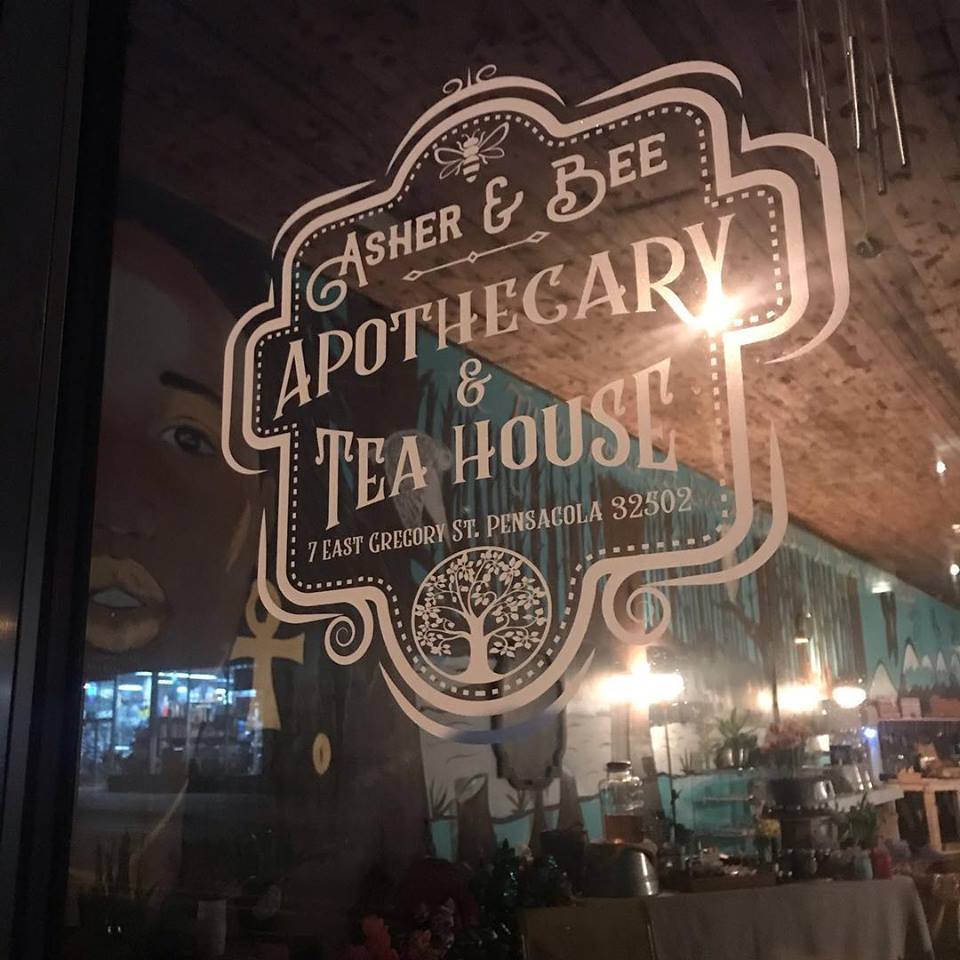 ab-ext Teahouse Asher & Bee Provides a Welcomed Haven in Downtown Pensacola