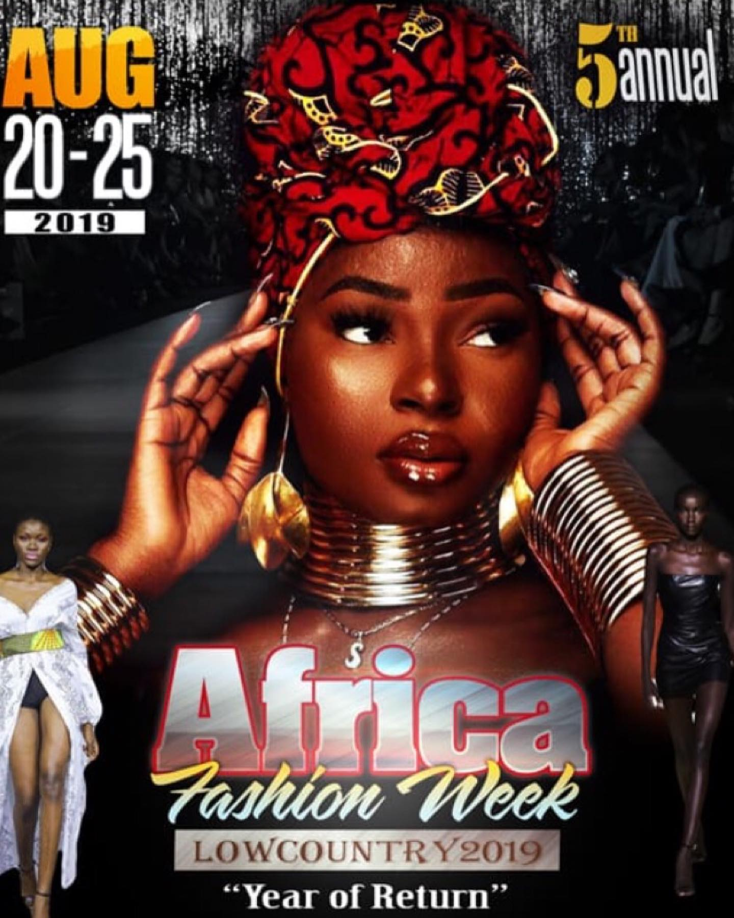 68325186_2470214676364412_6356210951338852352_o Southern Sensibility & Style: Africa Fashion Week Lowcountry 2019