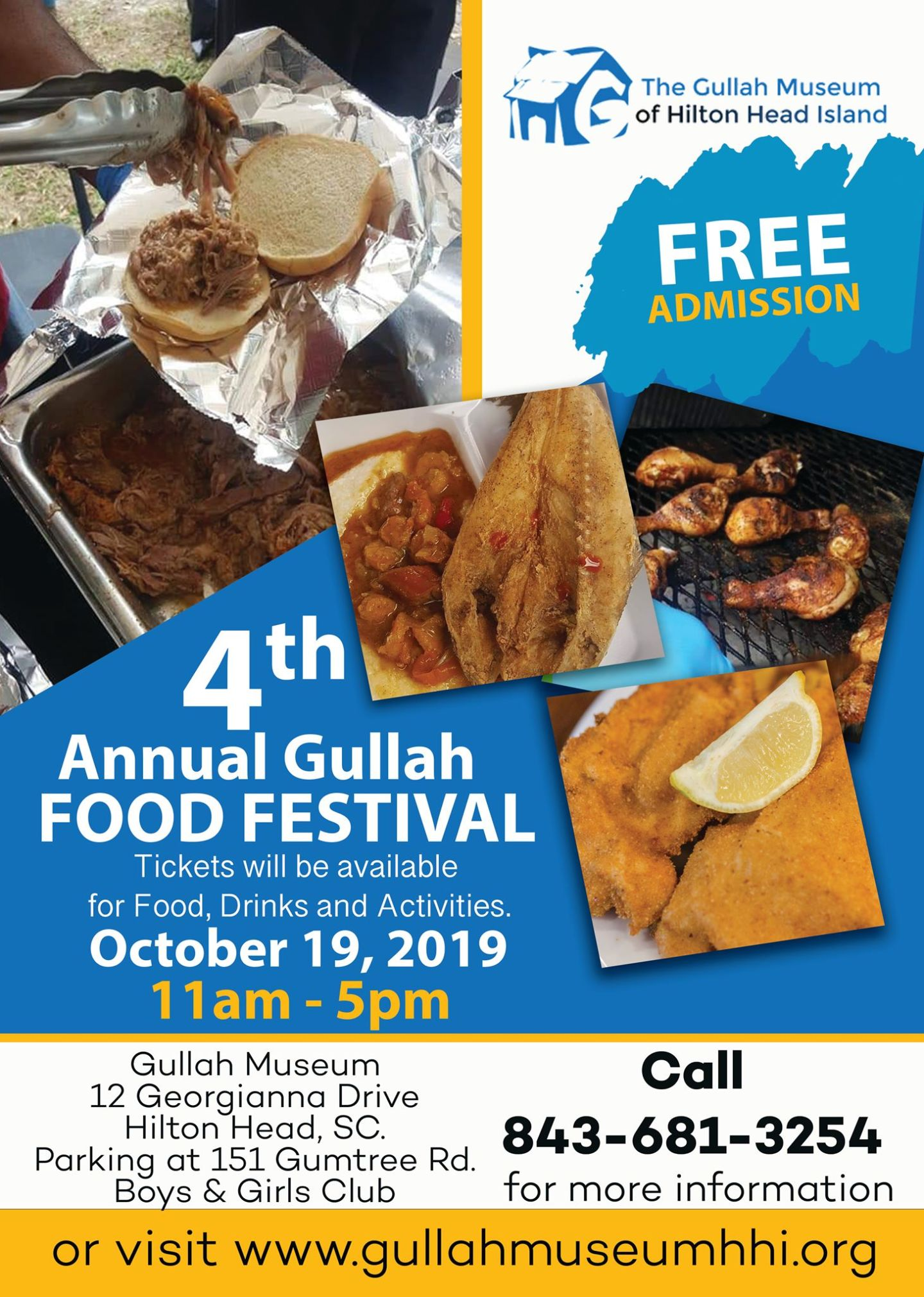 Gullah Food Festival in Hilton Head Island, SC