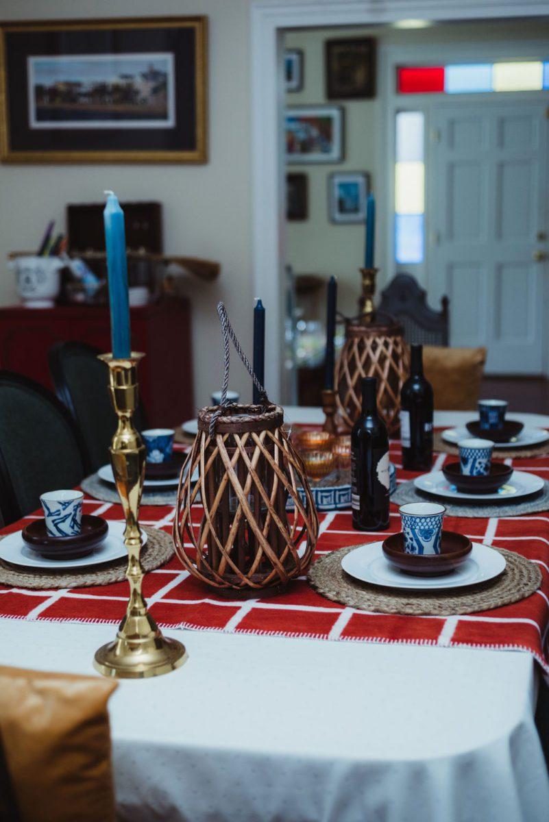 DSC_4761-1 Orange and Blue Fall Inspiration: Fall Tablescape Decor