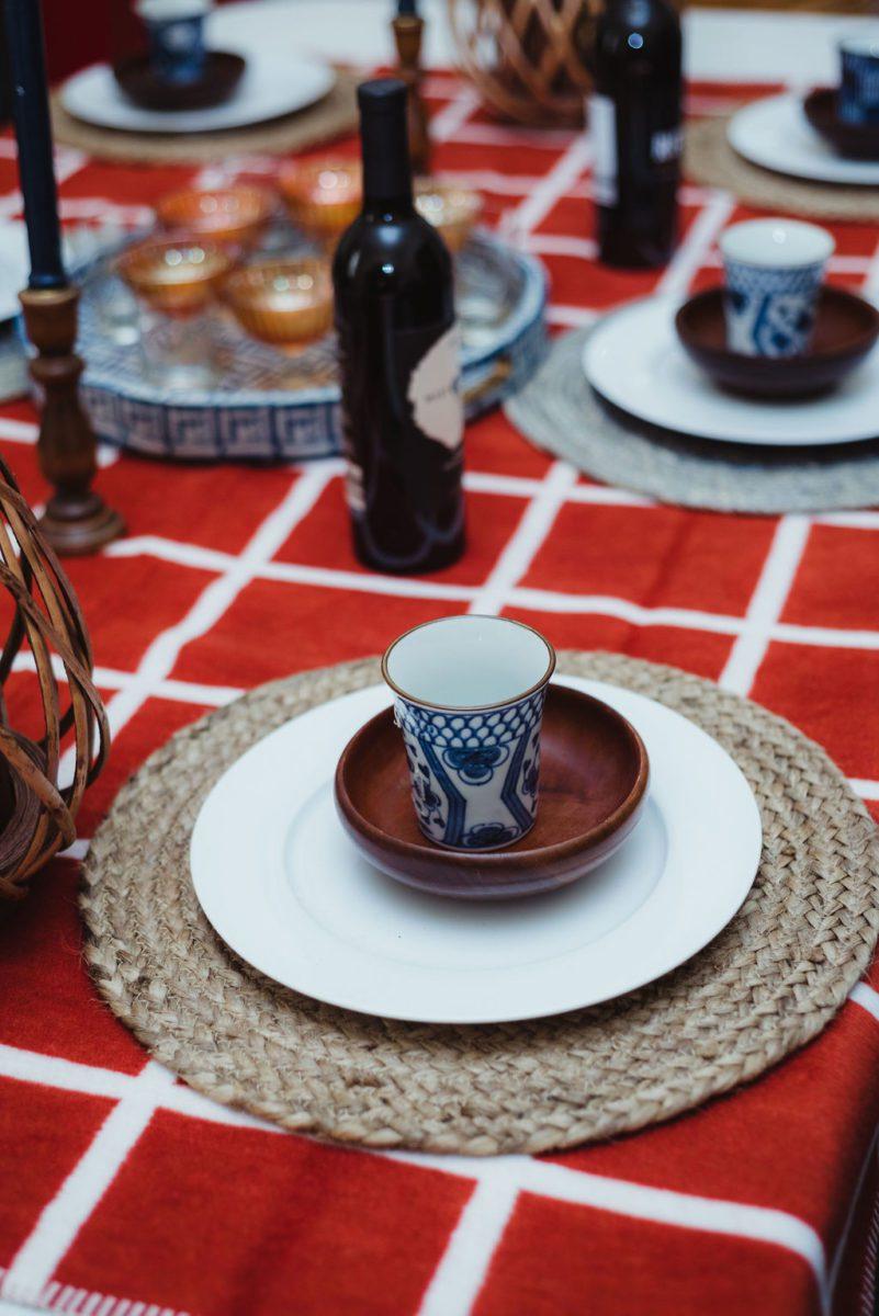 DSC_4768-1 Orange and Blue Fall Inspiration: Fall Tablescape Decor