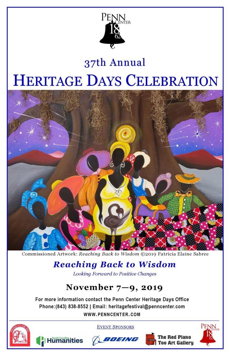 2019Heritagemarketingflyer Heritage Travel: 37th Annual Penn Center Heritage Days Celebration