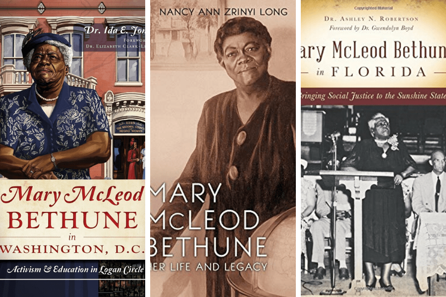 Florida Heritage:  Mary Mcleod Bethune Books to Add To Your Coffee Table