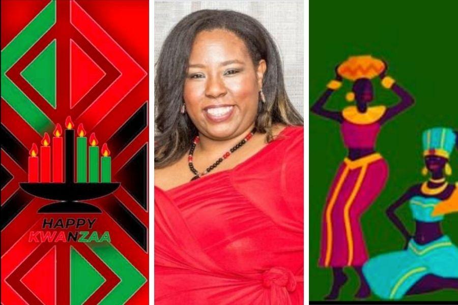 Atlanta-Based Graphic Designer Creates Kwanzaa Backgrounds For Social Media