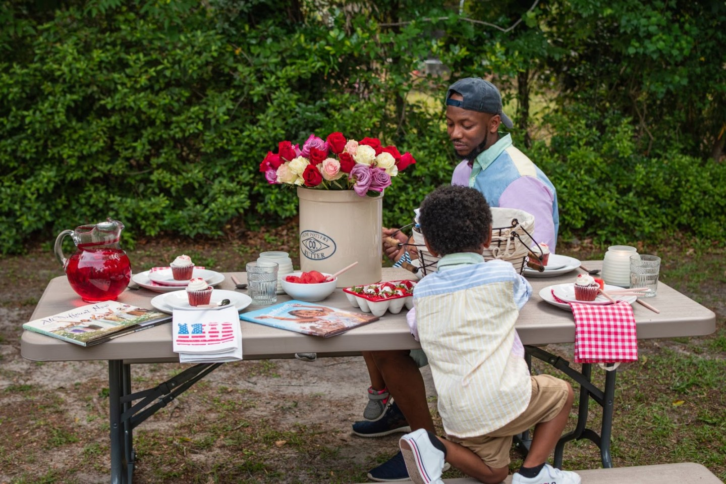How to Host a Juneteenth Cookout with Little Kids