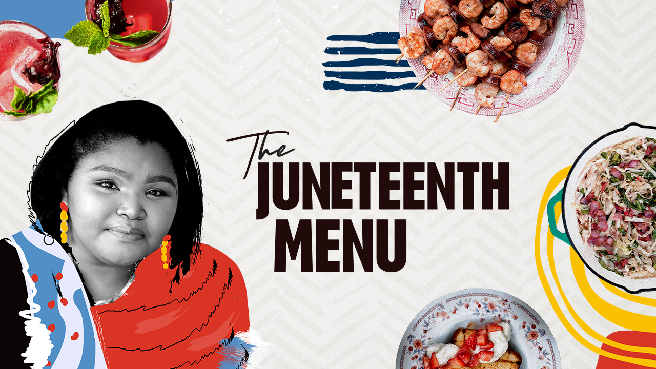 Check Out The Juneteenth Menu on Food Network