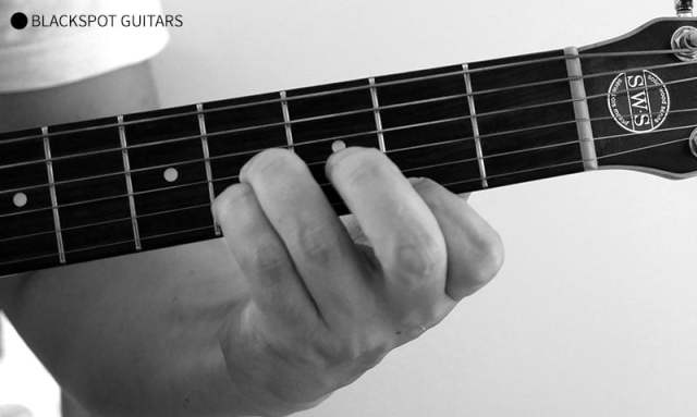 B Major Guitar Chord Finger Position