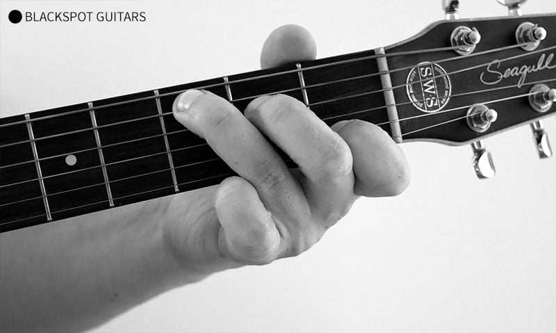 C Major 5 Guitar Chord Finger Position