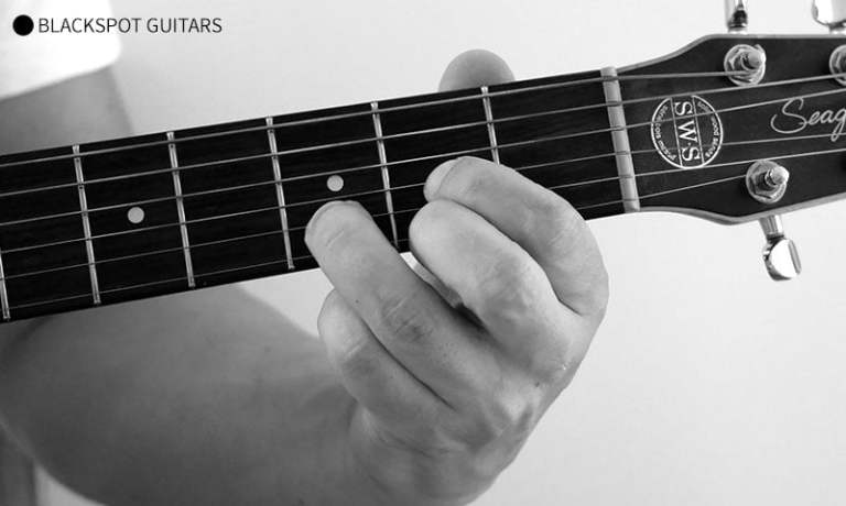 D Major Guitar Chord Finger Position