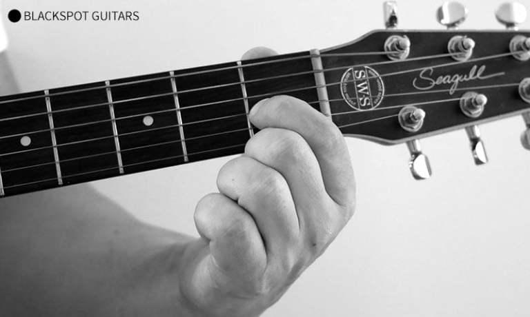 E Major Guitar Chord Finger Position