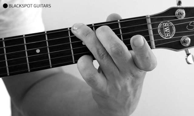 G Major 3 Guitar Chord Finger Position