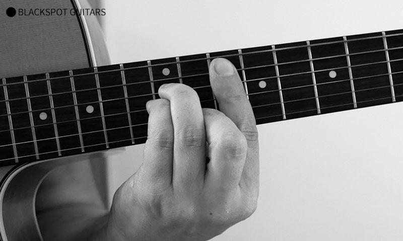 G Minor Barre Guitar Chord Finger Position