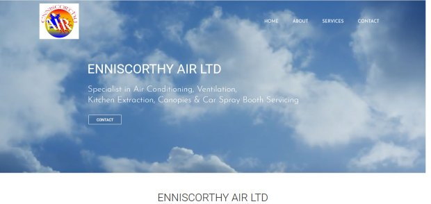 Enniscorthy Air Blackstairs Web Design