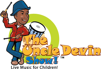 Uncle Devin Show, live music for Children