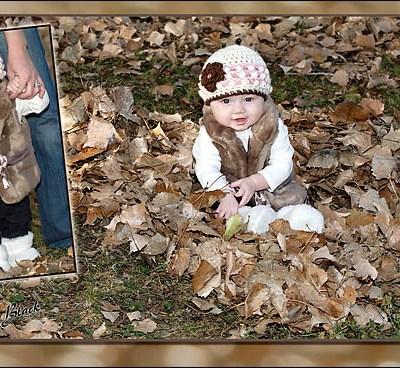 Gabrielle at 6 months – Rutland South Dakota Children's Photography