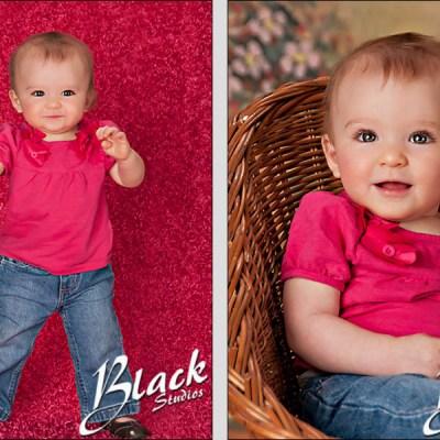 Kaiya at 9 months old – Madison South Dakota Baby Photography