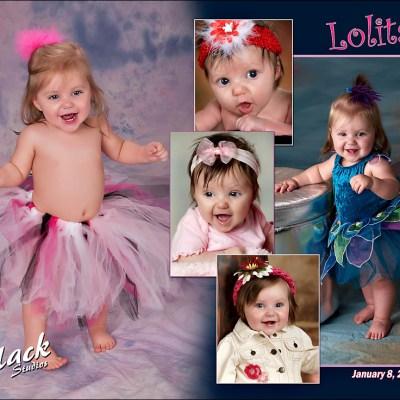 Lita's One Year Panel – Madison South Dakota Baby Photography